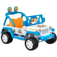 Deals on Power Wheels Disney Pixar Toy Story Ride On Jeep Wrangler