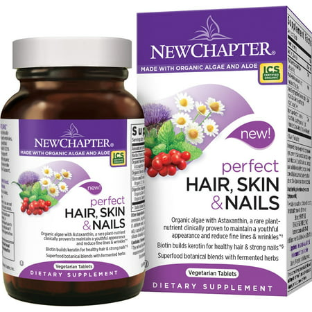 New Chapter Perfect Hair Skin and Nails Vegetarian Tablets, 30