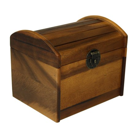 Maple Recipe Box - Mountain Woods Acacia Hardwood Recipe Box