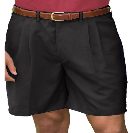Edwards Garment Mens Pleated Front Soft Touch Shorts  Style 2474