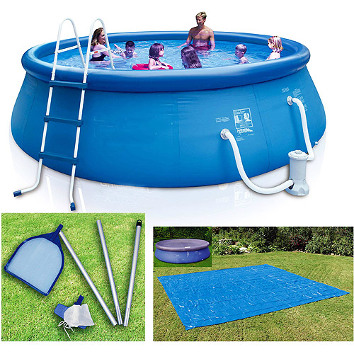 "16' x 42"" Inflatable Ring Pool"