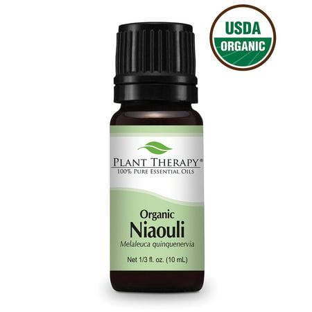 - Plant Therapy Organic Niaouli Essential Oil 10 mL (1/3 fl. oz.) 100% Pure, Undiluted, Therapeutic Grade
