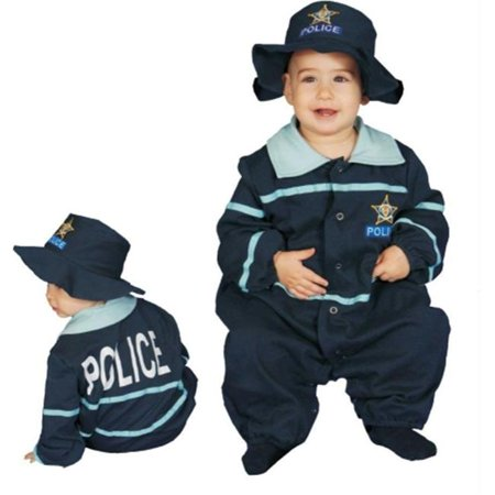 Police Costume Toddler (Costumes For All Occasions Up295Ts Baby Police Officer 9 To 12)