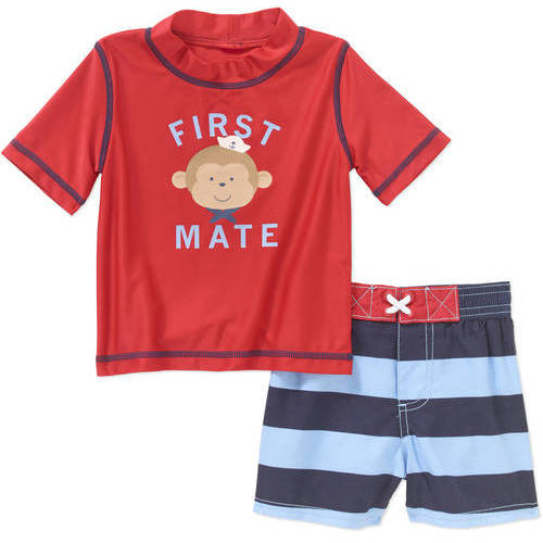 Child of Mine by Carter's Baby Boy 2 Piece Rash Guard Swim Set, Online Exclusive