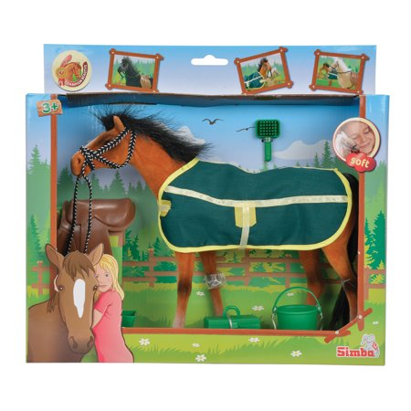 Horse Accessories Toys - Simba Toys - Champion Brown Beauty Horse with Accessories
