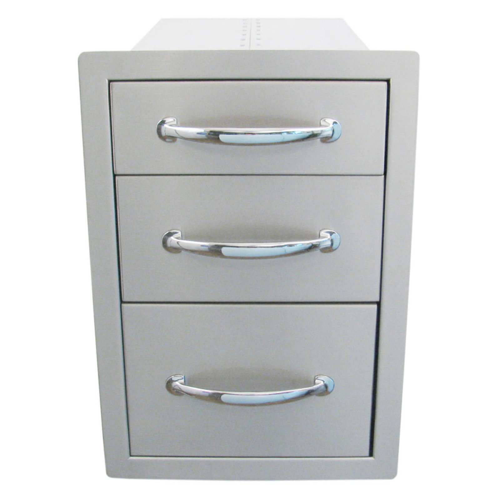 Sunstone Grills Classic Series 14 In. Flush Triple Access Drawer