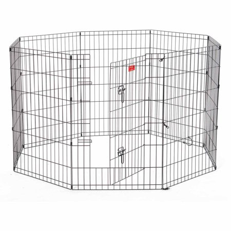 Lucky Dog Heavy Duty Pet Exercise Pen With Stakes