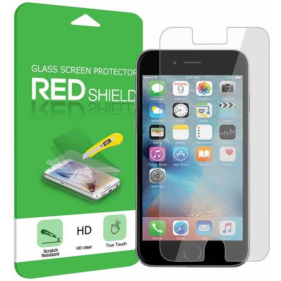 walmart iphone screen protector iphone se 5 5s screen protector redshield tempered glass 16445