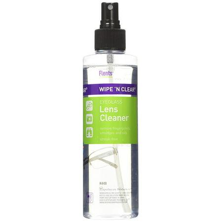 Flents Wipe 'N Clear Eyeglass Lens Cleaner 8 fl oz (236 (Iseries Lens Cleaner)