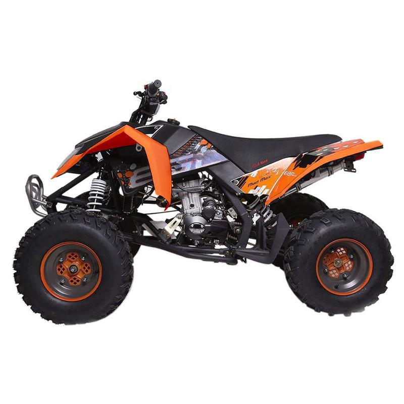 T4B MADMAX ADULT ATV 250cc Dirt Quad Recreational Outdoors, Off-Road, All Terrain, 4 stroke, single-cylinder, air-cooled - Black - image 7 de 7