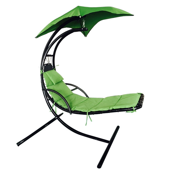 Ktaxon Outdoor Patio Furniture Hanging Chaise Lounger Cha...