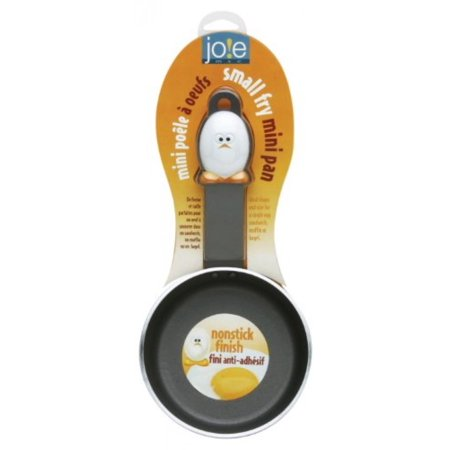 """Joie Mini Nonstick Egg and Fry Pan, 4.5"""" Cooking Eggs Stainless Steel Pan"""