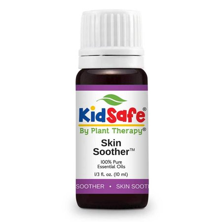 Plant Therapy KidSafe Skin Soother Synergy Essential Oil 10 mL (1/3 oz)