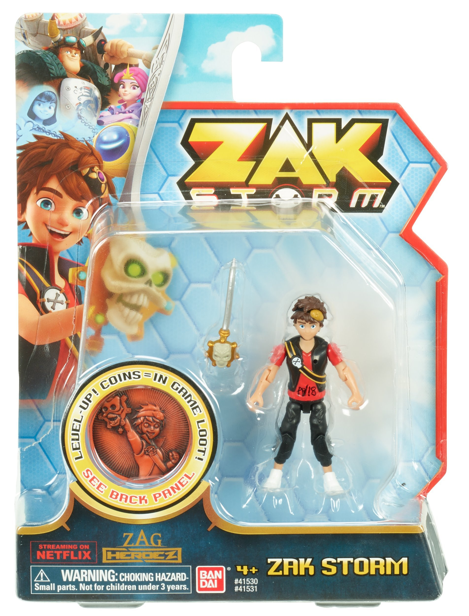 Zak Storm Zak 3-inch Scale Action Figure with Blind Bag Zak Storm