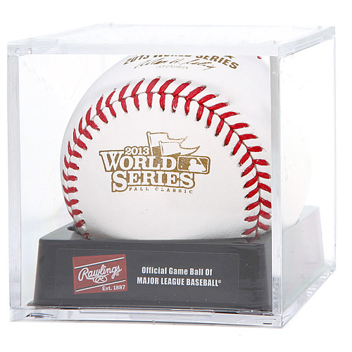 MLB 2013 Official World Series Cubed Baseball by R