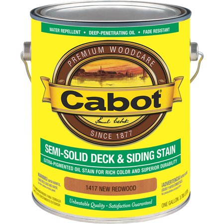 Cabot Semi-Solid Deck & Siding Stain Cabot Deck Stain Colors