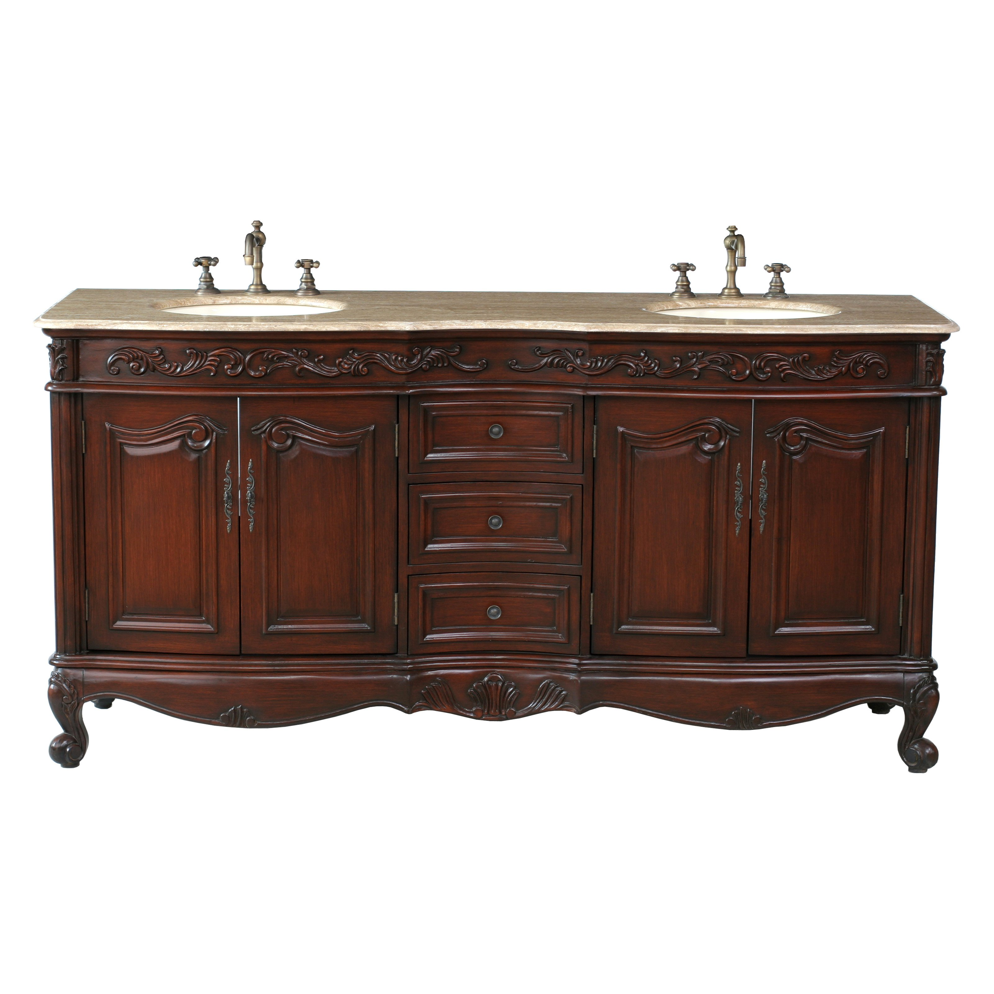 Hazelwood Home Bathroom Vanity Set
