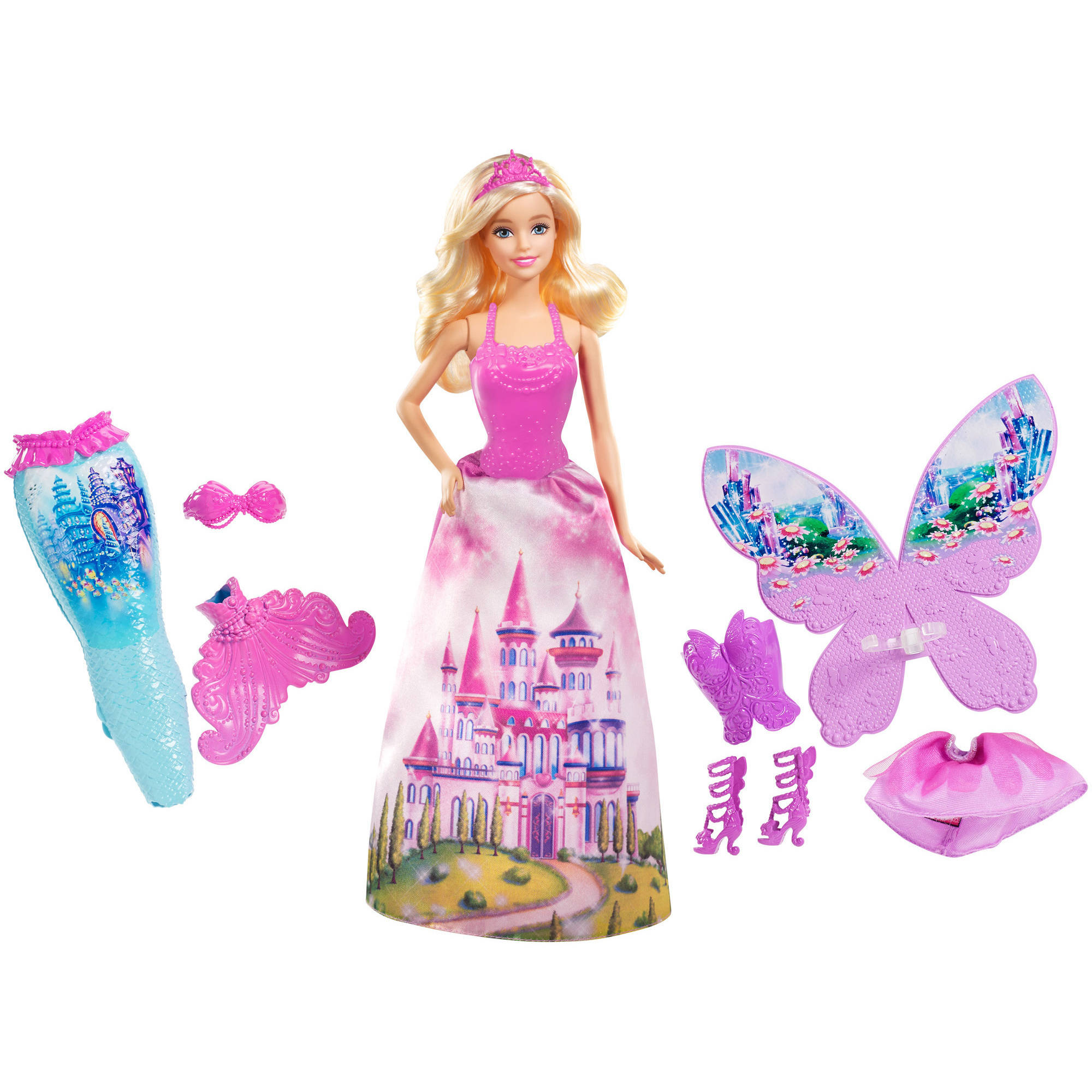 Barbie Fairytale Gift Set Walmart