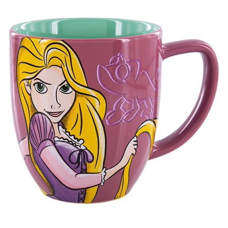 Disney Parks Princess Rapunzel Portrait Ceramic Coffee Mug New](Rapunzel Cut Out)