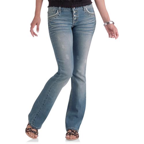 L.E.I. Juniors Monet Lowrise Bootcut Jeans