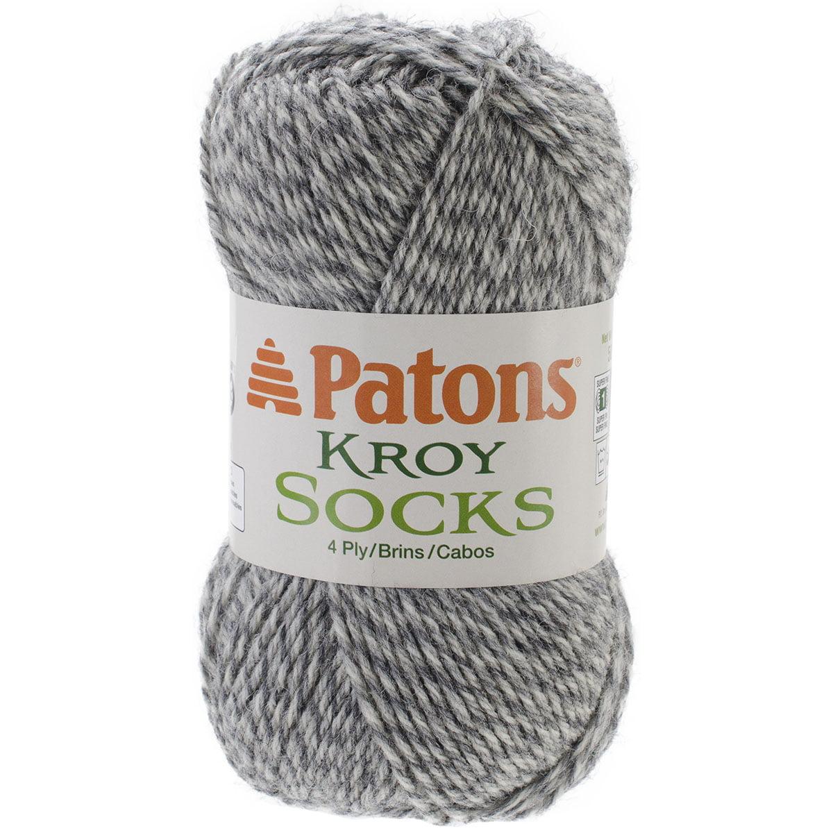 Kroy Socks Yarn-Grey Marl