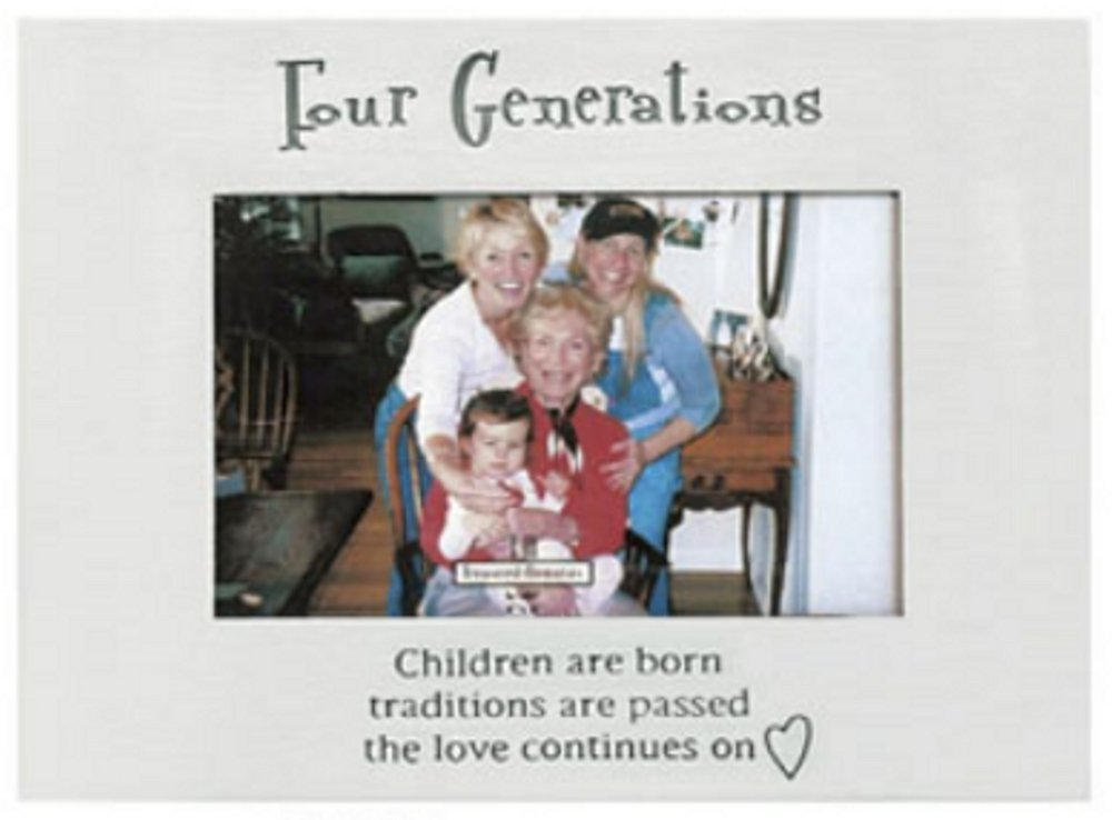 Four Generations Frame, Holds 4 x 6\