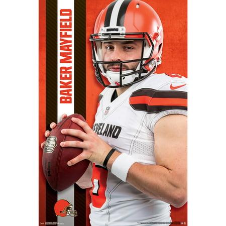 Cleveland Browns - Baker Mayfield (Cleveland Browns Decor)