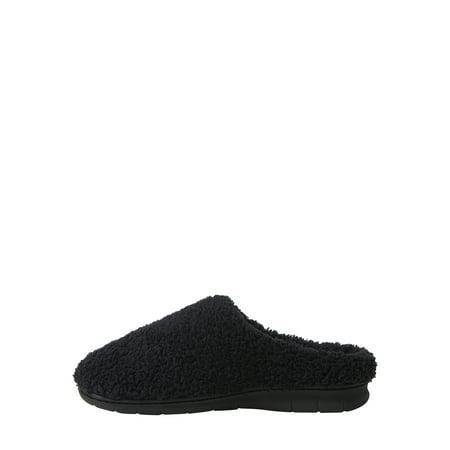 DF by Dearfoams Women's Fluffy Terry Clog slippers