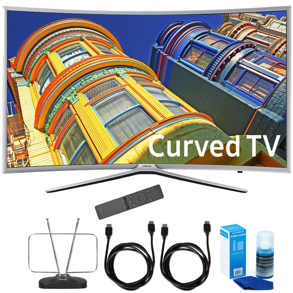 "Samsung UN55K6250 Curved 55"" 1080p Full HD LED Smart TV K..."