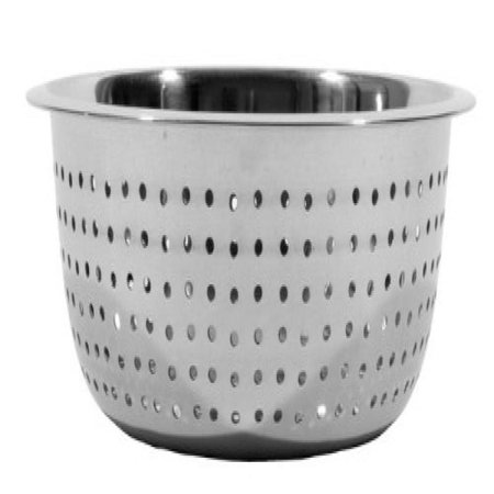 Town Food Service 31811 11 in. Stainless Steel Large Hole Chinese Style Colander