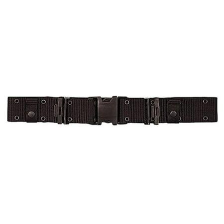 Quick Pistol Belt (Black Marine Corp Style Quick Release Pistol Belt)