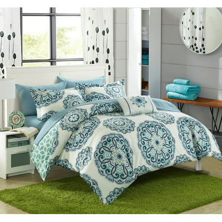 Kidsline 6 Piece - Chic Home Catalonia 6 Piece Reversible Bed in a Bag Comforter Set