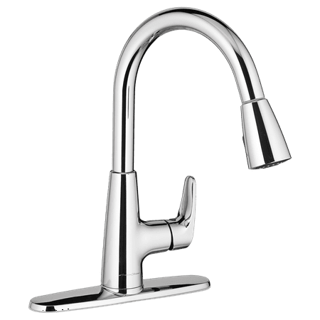 American Standard Colony Tub (American Standard Colony Pro Single-Handle Pull Down Kitchen Faucet in Chrome)