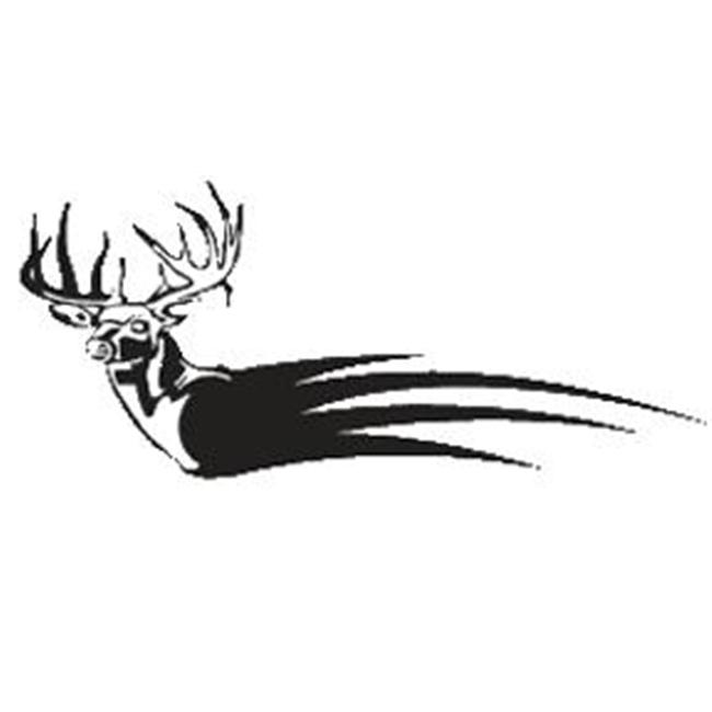 Western Recreation Ind 4658 Buck Flame Decal - image 1 de 1