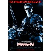 Terminator 2 Movie Poster 24x36 Entertainment Decor
