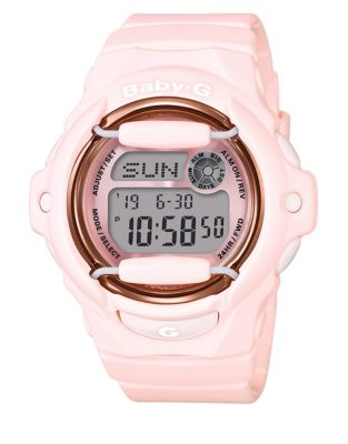 Shock, Magnetic & Water Resistant Digital Strap Watch