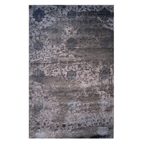Rectangular Contemporary Polypropylene Area Rug in Multicolor