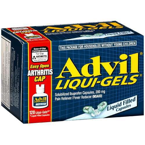 Advil Liqui-gels EZ Open, 120 ct