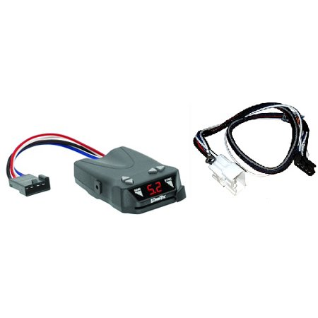 Activator IV Electronic Brake Control, for 1 to 4 Axle Trailers, Timed Actuated for  2016 - 2017 Toyota, Tacoma, All Styles  2015 - 2017 Toyota, Tundra, All Styles ()