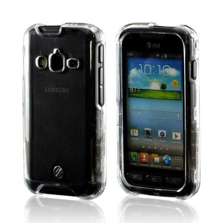 Samsung Galaxy Rugby Pro Case Clear Slim Protective Crystal Glossy Snap