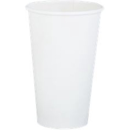 Renown Single-Sided Pe-Lined Paper Hot Drink Cups, White, 16 Oz., 1,000 Per Case