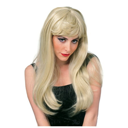 Glamour Wig (Blonde) - Party City Blonde Wig