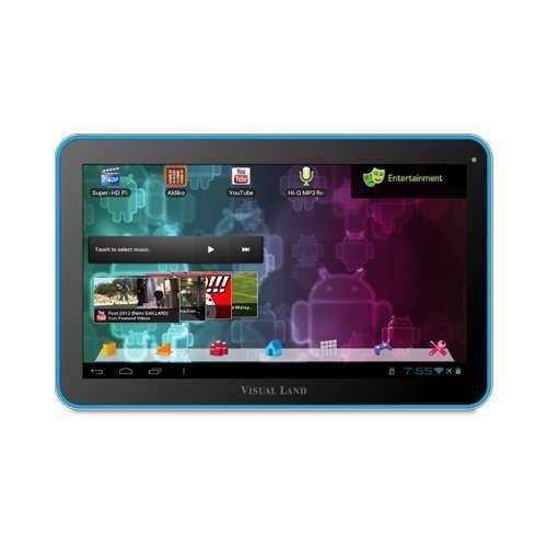 "Visual Land Prestige 10 ME-110-16GB-BLU Internet Tablet - Android 4.0 Ice Cream Sandwich, ARM Cortex A8 1.2GHz, 10"" Mult"