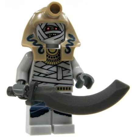 lego lego pharaohs quest serpent mummy warrior minifigure with