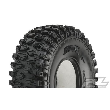 Image of Pro-Line Racing PRO1013214 Hyrax G8 Rock Terrain Truck Tires for Front - 2.2 in. - Pack of 2
