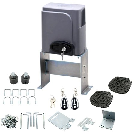 Auto Sliding Gate Opener Hardware Driveway Security Operator Kit w