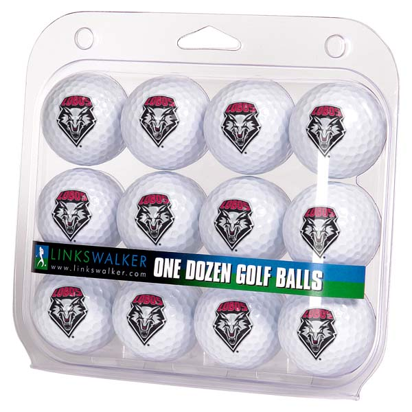 New Mexico  Dozen Golf Balls