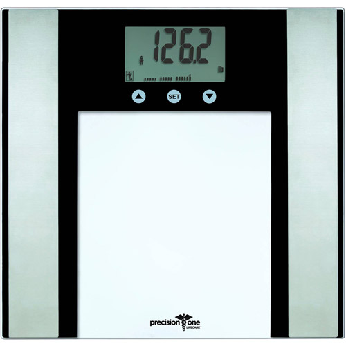 Precision One 7-in-1 Glass Body Fat/Composition Bath Scale