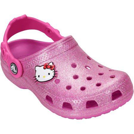 f2303a1aa2c9 Hello Kitty - Crocs Toddler US 10 Pink Clogs - Walmart.com