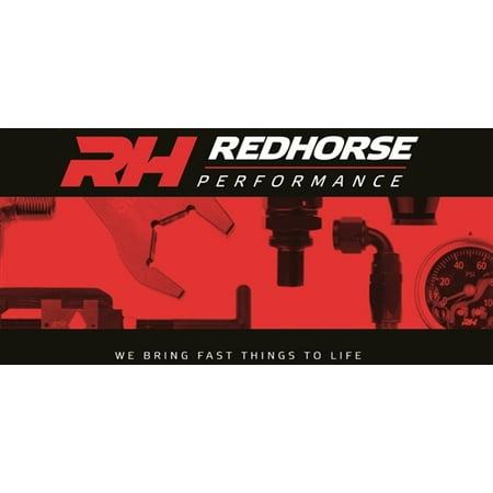 Red Horse Performance 8190-06-2 RHP8190-06-2 -06 FEMALE TO FEMALE AN/JIC FLARE SWIVEL COUPLING -90 DEG - (Deg Swivel End)